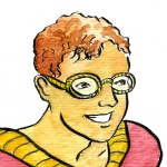 Picture of James Daily as a Superhero