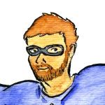 Picture of Ryan Davidson as a Superhero